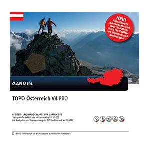 Turist. mapa Rakouska, TOPO Austria v4 PRO, DVD + micro SD