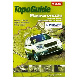 Turistická mapa Maďarska, TOPO Hungary, CD-ROM
