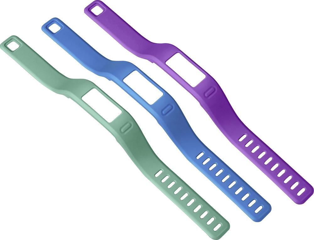 Řemínky náhradní pro vívofit teal, blue, purple (malý průměr)
