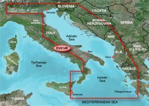 Bluechart G2 Vision - Itálie, Jaderské moře (SD, regular, VEU014R)