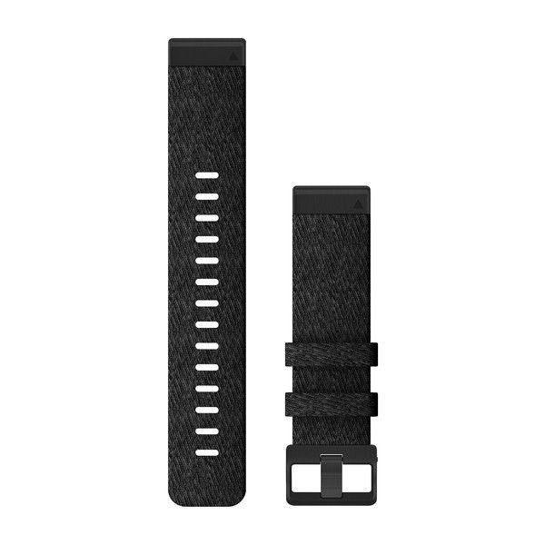 Řemínek pro MARQ - QuickFit 22, nylonový, černý