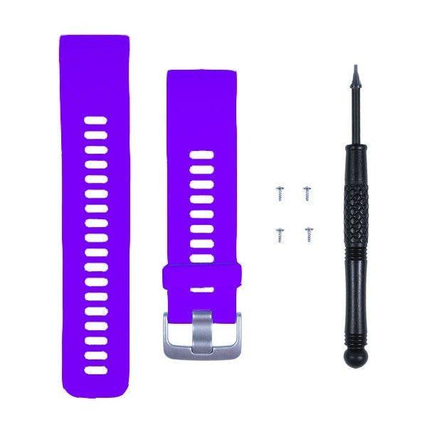 Řemínek pro Garmin Forerunner 35, 30 a Approach S10 Purple