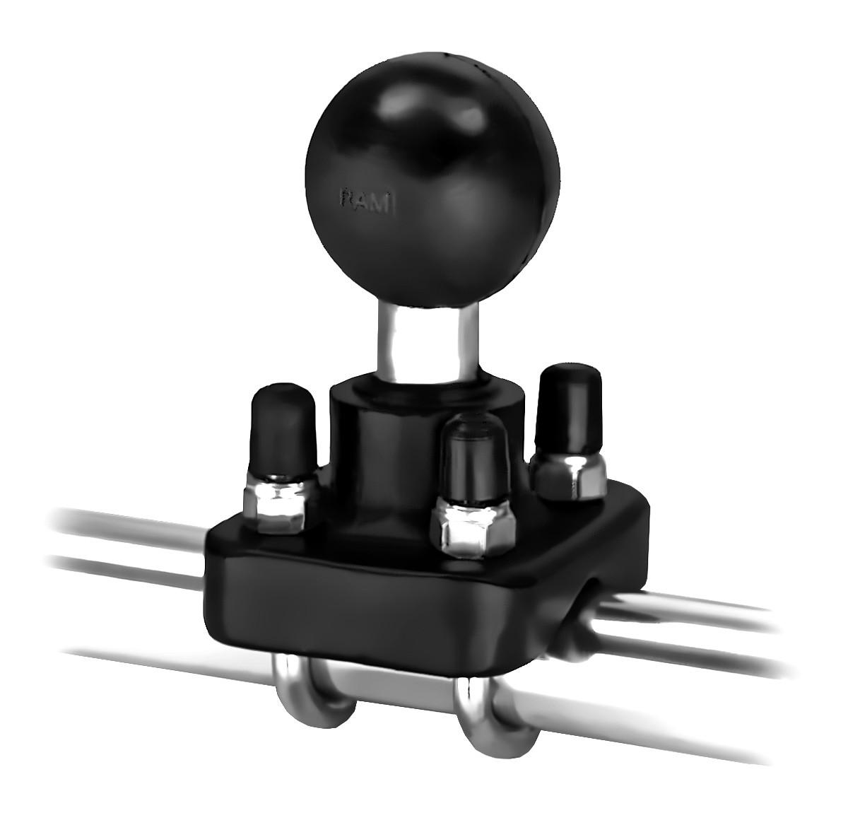 """RAM - objímka s dvojitým třmenem a 1,5"""" koulí"""