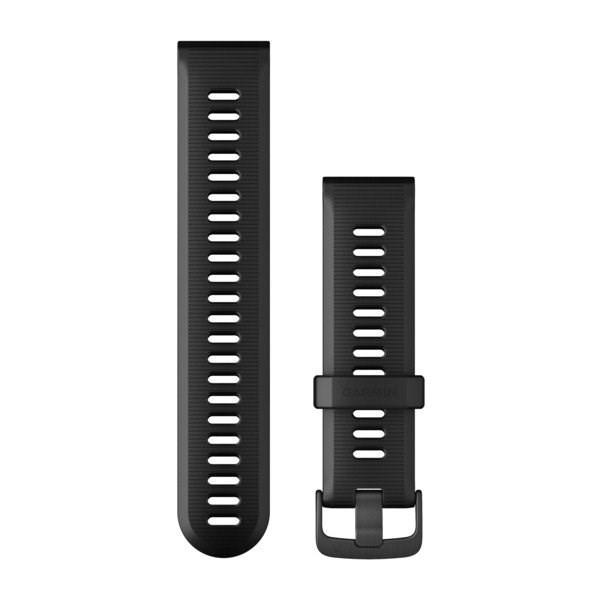 Garmin řemínek pro Forerunner 945/935, černý, tmavá přezka