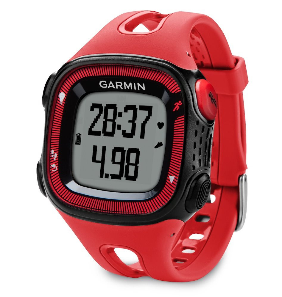 Garmin Forerunner 15 Red/Black (vel. XL)