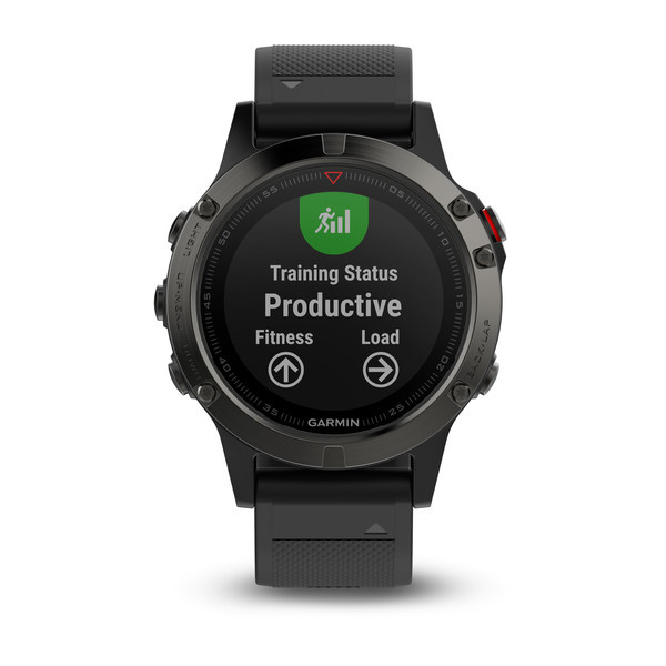 Garmin fenix5 Gray Optic, Black band