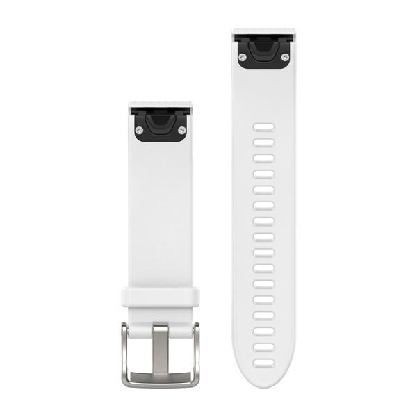 Řemínek pro fenix5S - QuickFit 20, silikonový, bílý