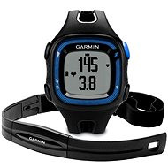 Garmin Forerunner 15 HR Black/Blue (vel. XL)