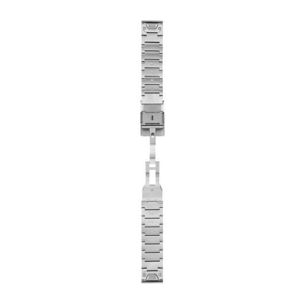 Garmin světle šedý ocelový řemínek s úchytem QuickFit 22
