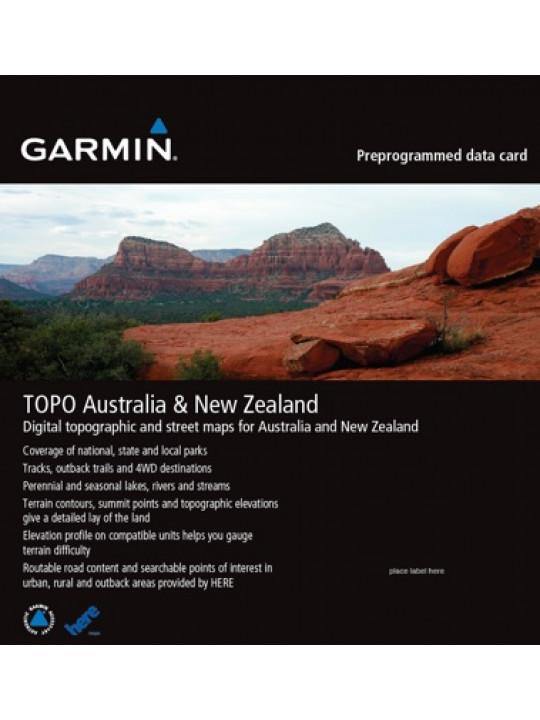 Turistická mapa TOPO Australia & New Zealand DVD