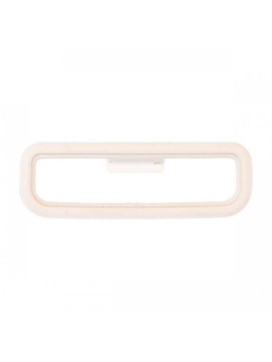 Garmin keeper - bílé poutko k řemínku pro Forerunner 35