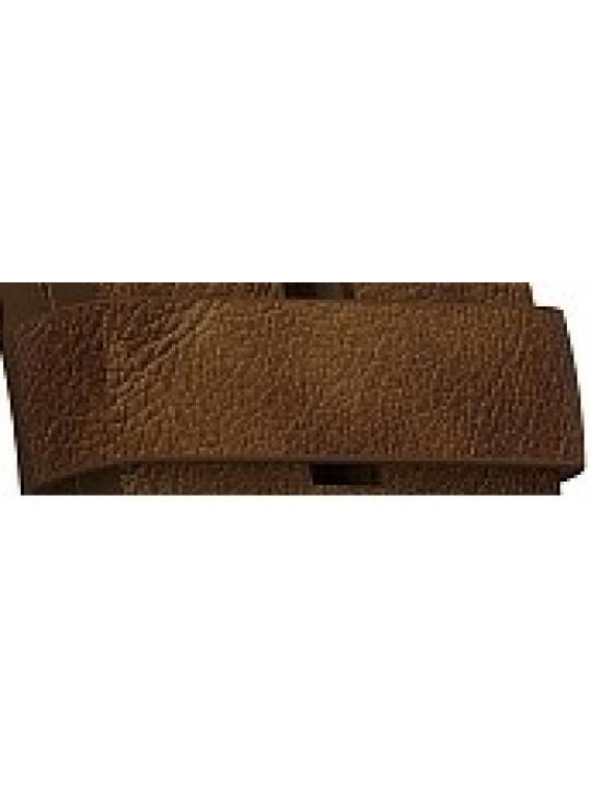 Garmin keeper - hnědé kožené poutko k řemínku pro Chronos