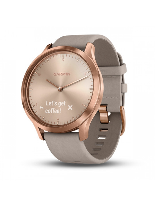 Garmin vívomove Optic Premium Rose Gold, Gray band